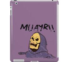 MUAYR!! - Skeletor  iPad Case/Skin