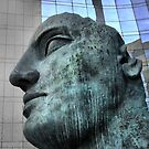 The Face at La Defence. by Larry Lingard-Davis