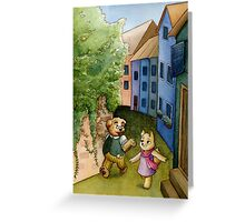 Daytime stroll Greeting Card