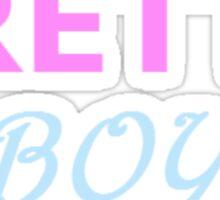 Pretty Boy Sticker