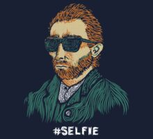 Van Gogh: Master of the Selfie Kids Tee