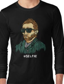 Van Gogh: Master of the Selfie Long Sleeve T-Shirt