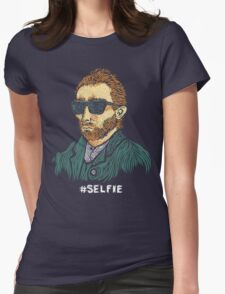 Van Gogh: Master of the Selfie Womens Fitted T-Shirt
