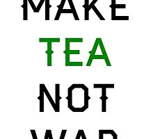 Tea not War by piratice