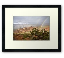 End of the Rainbows Framed Print