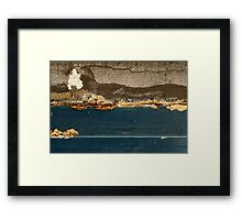 Lakeside View at Dusk Framed Print