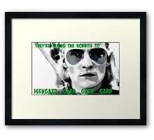 They're taking the hobbits to Isengard! Framed Print