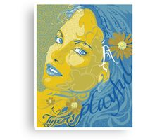 Type Is Playful Canvas Print