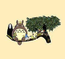 Totoro and More by aldeki