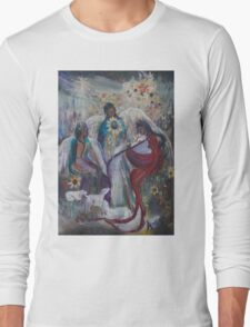 The Nativity of Angels  Long Sleeve T-Shirt