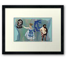 Louis, Bacon, Manet, Matisse, Rembrandt Framed Print
