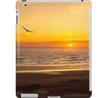 Tranquil Skys and High Color A Newport Oregon Sunset iPad Case/Skin
