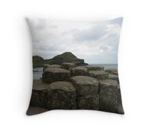 The Giant's Causeway Throw Pillow