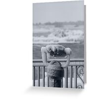 Icy cold Greeting Card