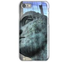 The Face at La Defence. iPhone Case/Skin