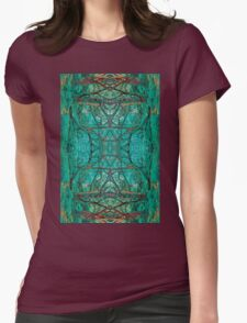 Aya Forest Womens Fitted T-Shirt