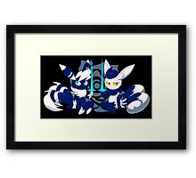 Meowstic Couple Framed Print