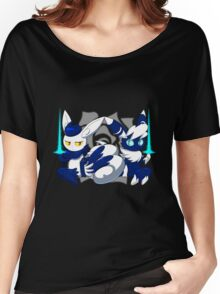 Meowstic Couple Women's Relaxed Fit T-Shirt