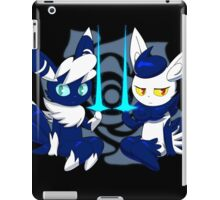 Meowstic Couple iPad Case/Skin