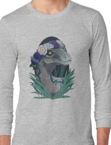 Clever Girl - Blue Long Sleeve T-Shirt