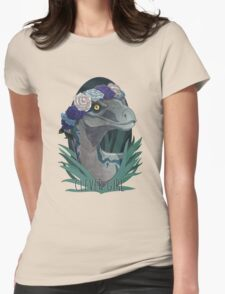 Clever Girl - Blue Womens Fitted T-Shirt