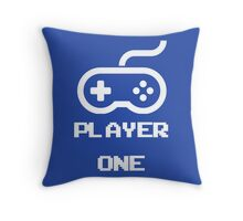 Player One  Throw Pillow