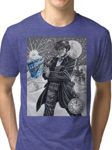 The Second Doctor Tri-blend T-Shirt