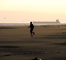 Sumner Beach Runner by Grant Shatford