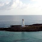 Light House in the Bahamas by Carl LaCasse