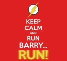 RUN BARRY RUN! Kids Clothes