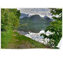 HDR, Lake Kochelsee, Sky Reflection Poster