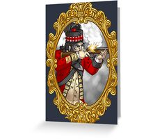 42nd Regiment Highland Soldier in the British Army Greeting Card