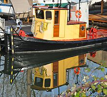 The old looking new (Tug Boat) by Carl LaCasse