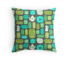 Pyrex Critters Throw Pillow