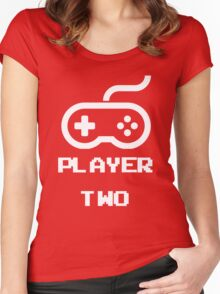 Player Two Women's Fitted Scoop T-Shirt