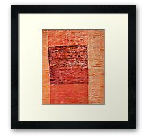 What exists beyond the frame Framed Print