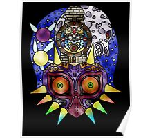 Majora's Mask Stained Glass Poster