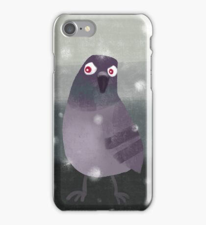 Angry Pigeon iPhone Case/Skin
