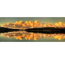 Let Us Reflect - Narrabeen Lakes, Sydney (35 Exposure HDR Panorama) - The HDR Experience Photographic Print