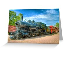 Engin 2645 (side view) Greeting Card