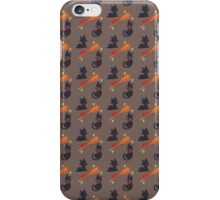 Witch's Familiar (Brown) iPhone Case/Skin
