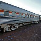 Old Amtrak Heritage Sleeper Coach #2986 - The Pine Mesa by Jack McCabe