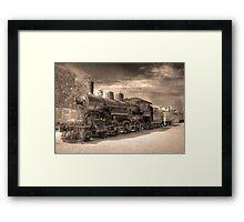 Engine 2645 (Sepia) Framed Print