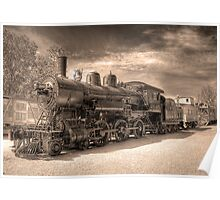 Engine 2645 (Sepia) Poster