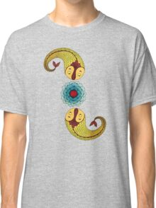 Curious Fish with Water Lily Classic T-Shirt