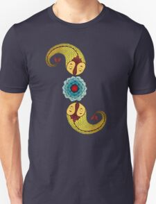 Curious Fish with Water Lily T-Shirt