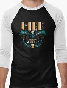 Marvin On Life Men's Baseball ¾ T-Shirt