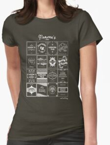 Tea Time with Ramona Flowers Womens Fitted T-Shirt