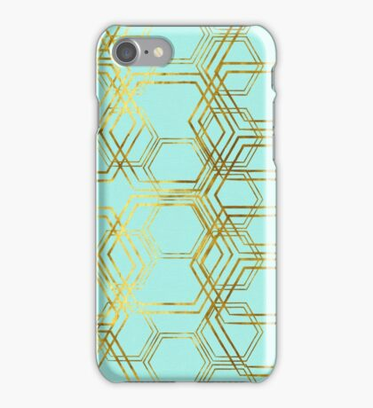 Hexagold iPhone Case/Skin