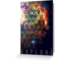 Explore II Greeting Card